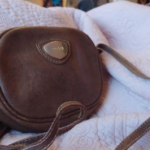 GUCCI vintage mini Crossbody bag leather western